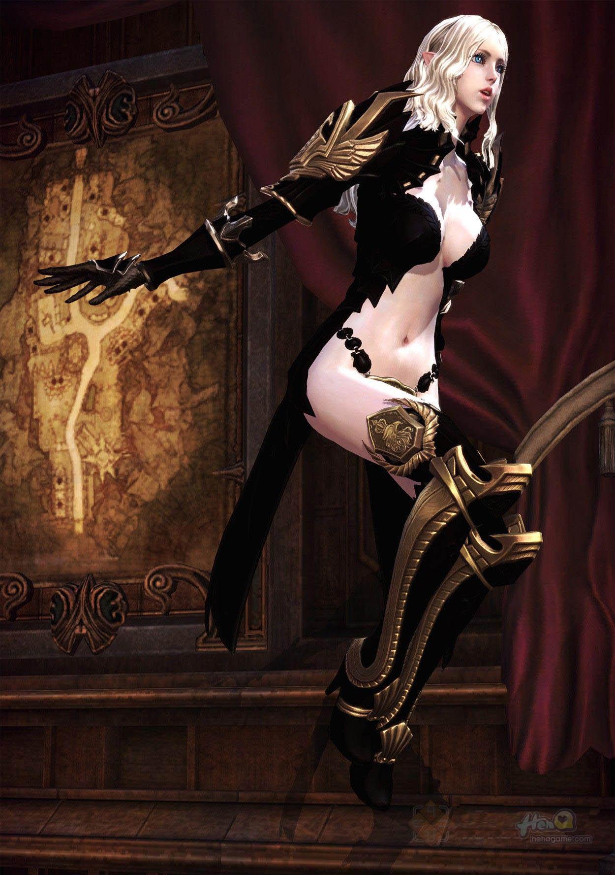 男生都喜欢的tera游戏美女角色截图 高清图片