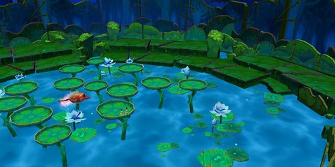 小宝梦境 青蛙跳荷叶