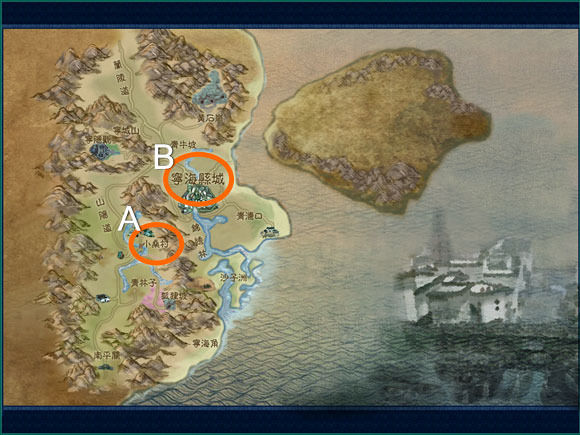 寧海縣地圖