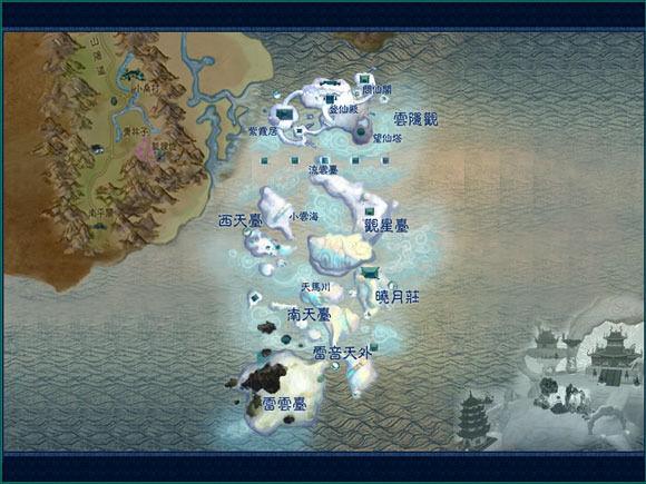 滄浪雲台地圖