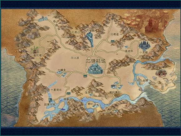 石塘縣地圖