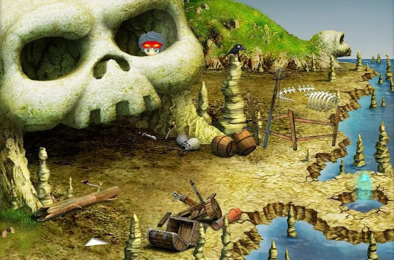 骷髅岛海底寻宝