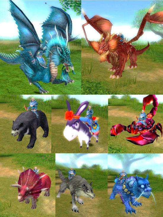 《蒼狼傳》煉化異型坐騎:百變騎乘