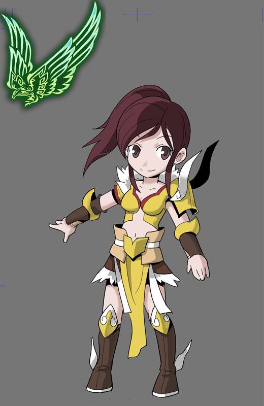 玩家手繪《降龍之劍》職業漫畫鐵羽