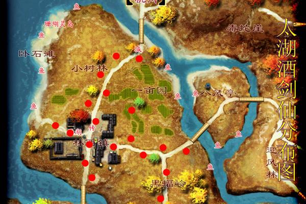 太湖分佈圖