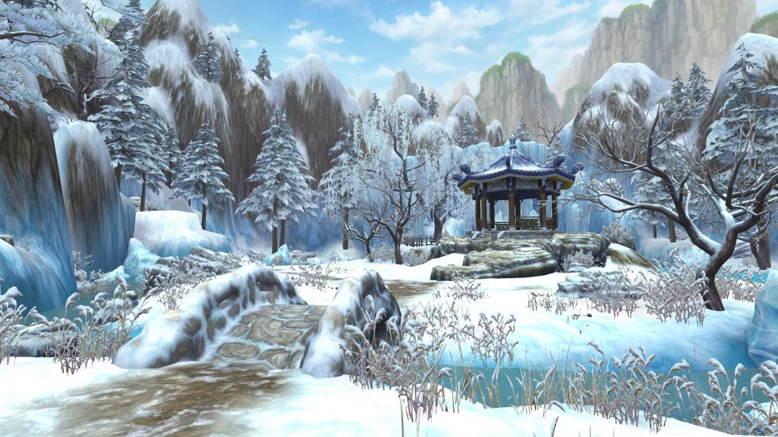 01細柔的雪,讓這裡的美麗凝結