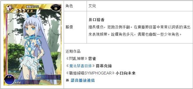 台服《百萬亞瑟王》完整聲優版客戶端10/7更新