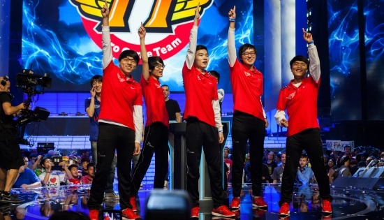 官方全球戰隊實力榜:SKT登頂OMG第五