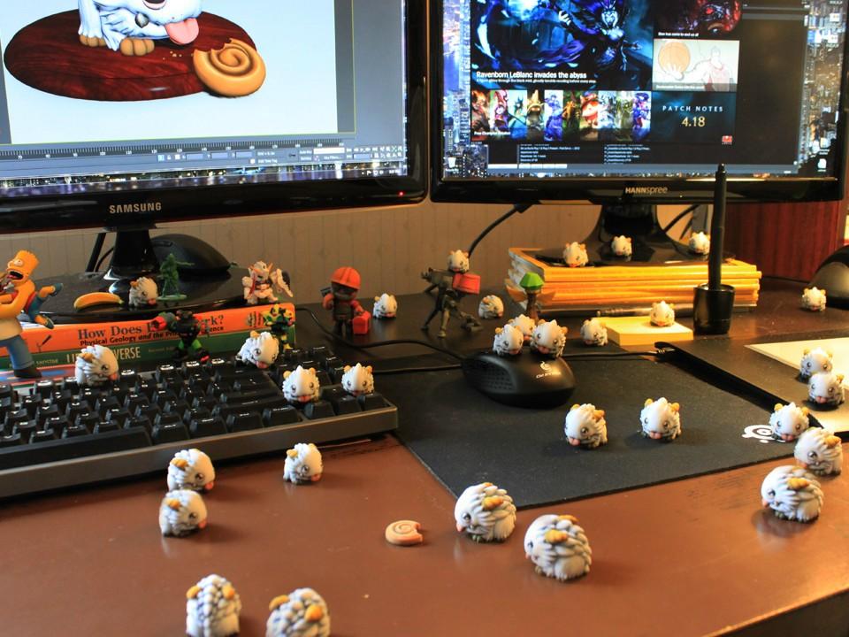 科技發展成就夢想 國外玩家自製3D魄羅
