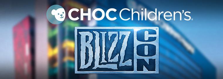 現在參加2014年BlizzCon慈善拍賣會,為橘郡兒童醫院募款