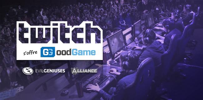 亞馬遜贊助戰隊 Twitch收購EG Alliance