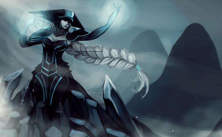 冰霜女巫-丽桑卓图片