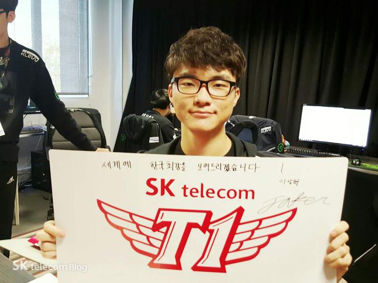 SKT寫給粉絲的話 Faker要證明韓國最強