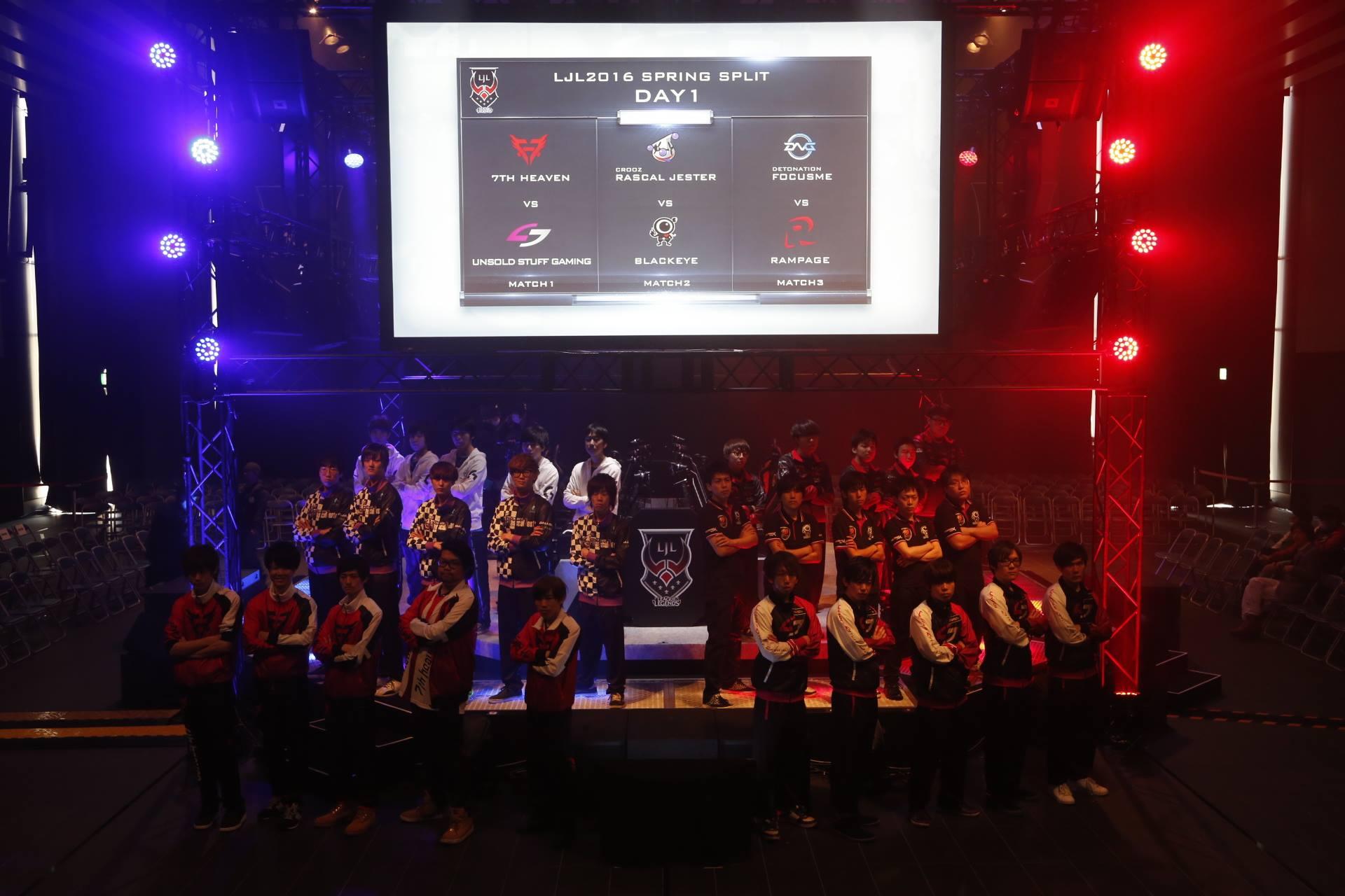 日服將至 LJL賽區挑戰者聯賽正式成立