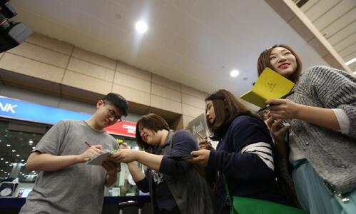 Dade加盟QG再回中國 獲眾粉絲熱情接機