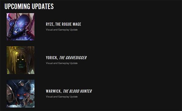 Riot更新計劃公佈 掘墓狼人瑞茲將重做