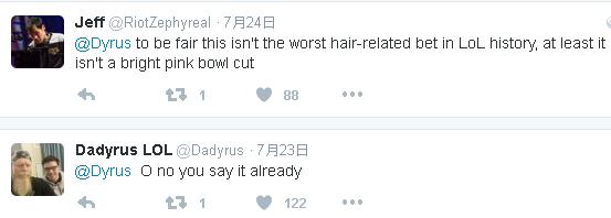 Dyrus變毒奶 削掉自己滿頭秀髮