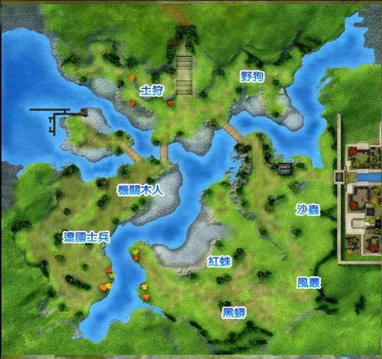 风之平原地图图片